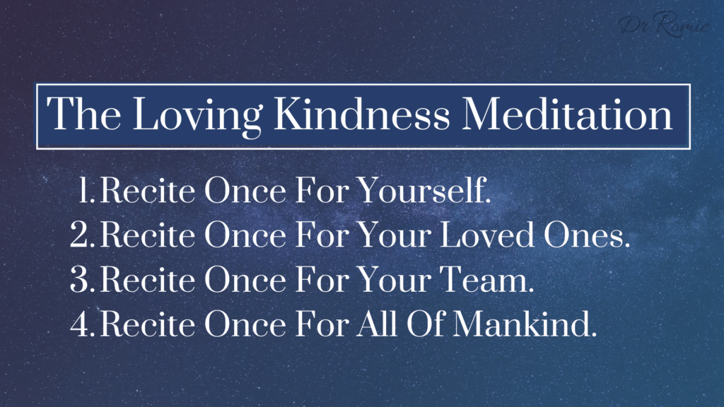 The Loving Kindness Meditation